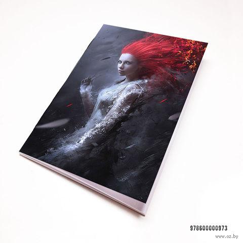 """Блокнот """"Девушка"""" (А7; арт. 973) — фото, картинка"""
