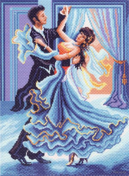 """Канва с нанесенным рисунком """"Танец"""""""