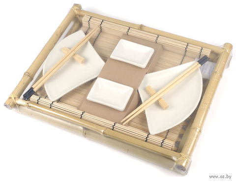Набор для суши на подносе (10 предметов; арт. MYKC8004)
