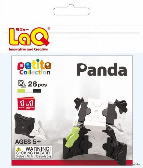 """Конструктор """"LaQ. Panda"""" (28 деталей)"""