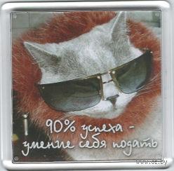 """Магнит """"90% успеха..."""" (арт. М241)"""