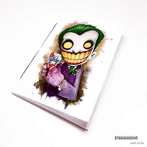 "Блокнот белый ""Джокер"" А7 (арт. 045)"
