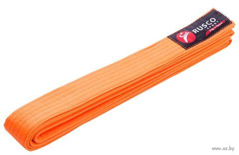 Пояс для единоборств (280 см; оранжевый) — фото, картинка