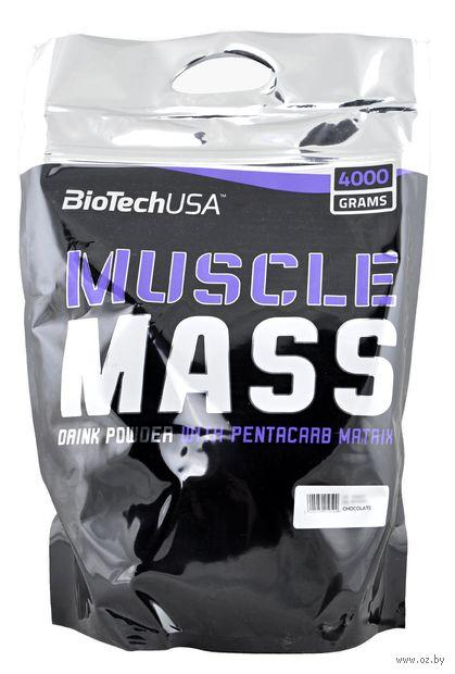 """Гейнер """"Muscle Mass"""" (4000 г; шоколад) — фото, картинка"""