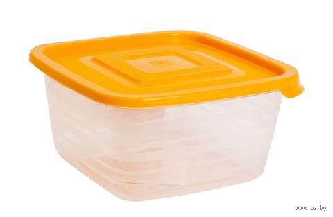 """Контейнер для продуктов пластмассовый """"Унико"""" (0,45 л; арт. С208)"""