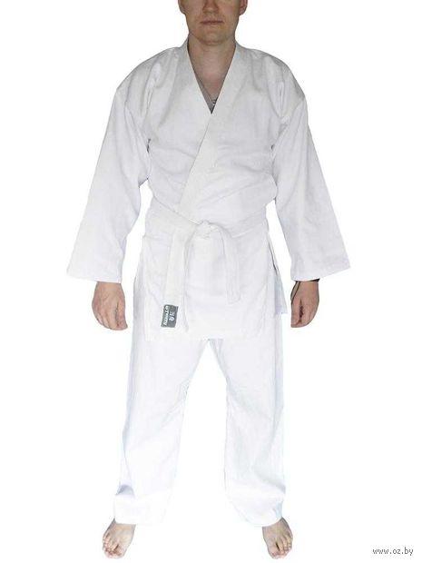 Кимоно для рукопашного боя AKRB-01 (р.56-58/170; белое) — фото, картинка
