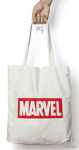 """Сумка-шоппер """"Марвел"""" — фото, картинка"""