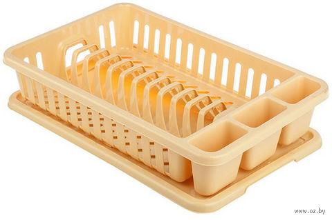 Сушилка для посуды (желтая)