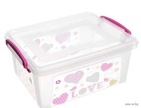 Ящик для хранения с крышкой (3 л; арт. 30262) — фото, картинка