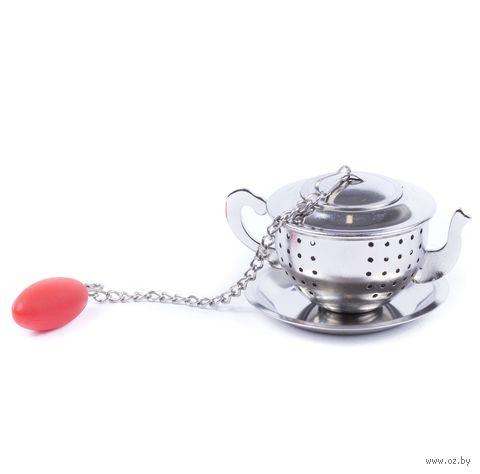 "Приспособление для заваривания чая ""Чайник"" (60х42х34 мм) — фото, картинка"