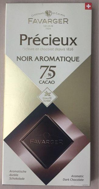 "Шоколад горький ""Favarger. 75% какао"" (100 г) — фото, картинка"
