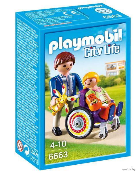 """Игровой набор """"Детская клиника. Ребёнок в коляске"""" — фото, картинка"""