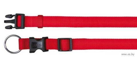 """Ошейник нейлоновый для собак """"Classic"""" (размер M-L, 35-55 см, красный, арт. 14223)"""
