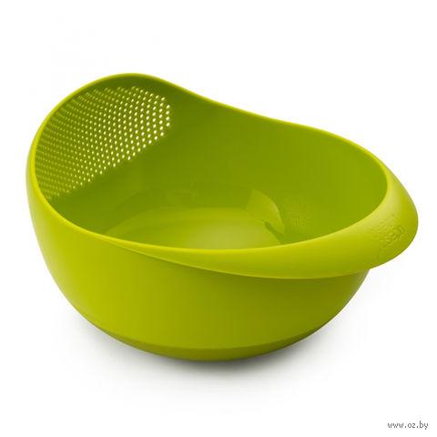 "Миска-дуршлаг ""Prep & Serve Large"" (зеленая) — фото, картинка"