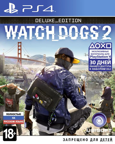 Watch_Dogs 2. Deluxe Edition (PS4)