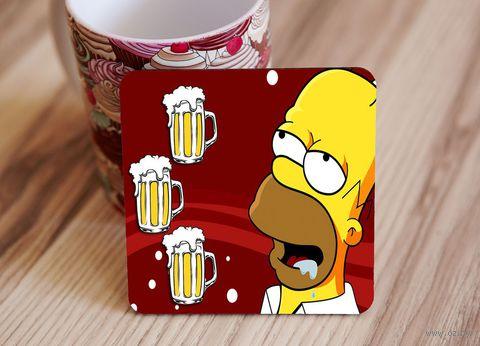 "Подставка под кружку ""Симпсоны"" (art.5)"