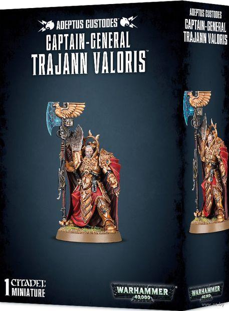 Warhammer 40.000. Adeptus Custodes. Captain-General Trajann Valoris (01-10) — фото, картинка