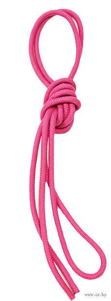 Скакалка для художественной гимнастики Pro 10101 (розовая) — фото, картинка