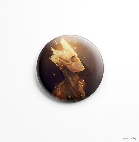 """Значок """"Стражи Галактики. Грут"""" (арт. 050) — фото, картинка"""