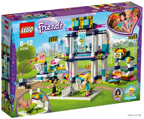 "LEGO Friends ""Спортивная арена для Стефани"" — фото, картинка"