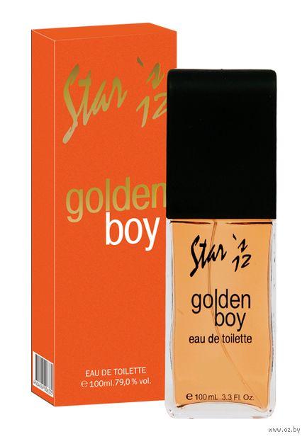 """Туалетная вода для мужчин """"Golden Boy"""" (100 мл) — фото, картинка"""