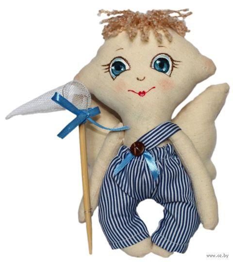 """Набор для шитья из ткани """"Кукла. Сережка"""" — фото, картинка"""