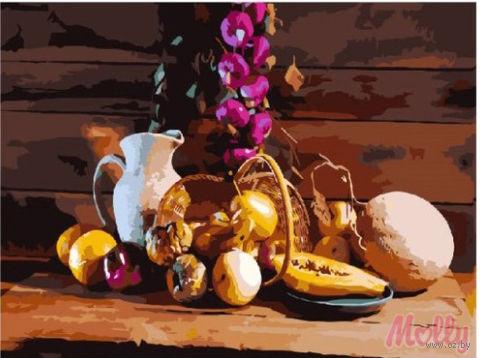 "Картина по номерам ""Деревенский натюрморт"" (400х500 мм)"