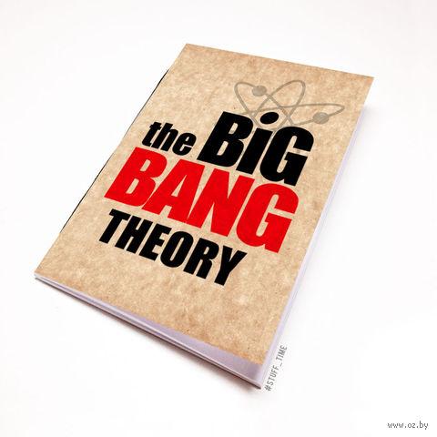 "Блокнот крафт ""Теория большого взрыва"" А6 (094)"