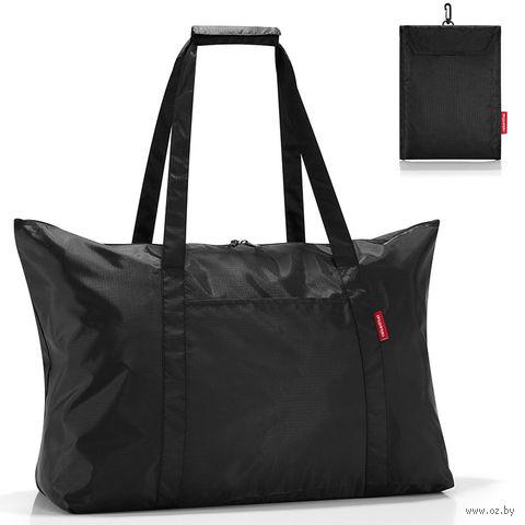 "Сумка складная ""Mini maxi travelbag"" (black)"