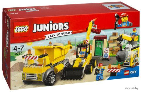 "LEGO Juniors ""Стройплощадка"" — фото, картинка"