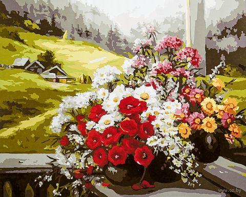"""Картина по номерам """"Альпийский пейзаж"""" (400х500 мм; арт. PC4050206) — фото, картинка"""