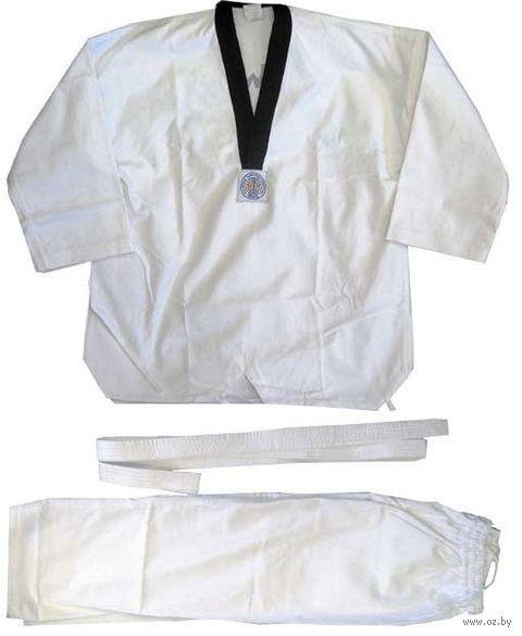 Кимоно для таэквондо WTF PTU-330 (р.4/170; белое) — фото, картинка