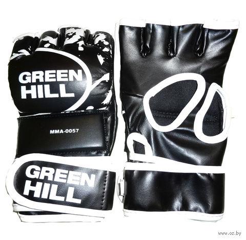Перчатки MMA-0057 (L; чёрные) — фото, картинка