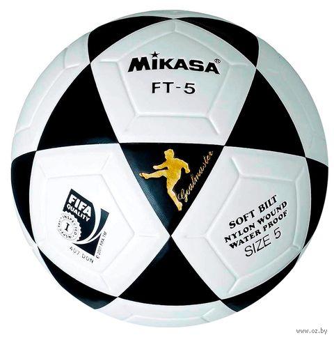 Мяч футбольный Mikasa FT-5 FIFA №5 — фото, картинка