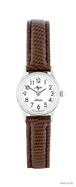 Часы наручные (коричневые; арт. 75761310) — фото, картинка