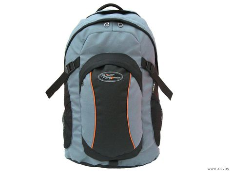 "Рюкзак ""Томас-25"" (25 л; чёрно-серый) — фото, картинка"