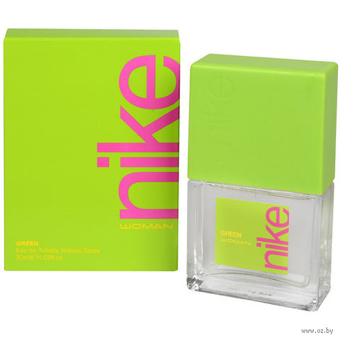 "Туалетная вода для женщин ""Nike. Green"" (30 мл) — фото, картинка"