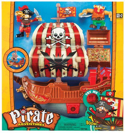 """Игровой набор """"Приключения пиратов"""" (со световыми и звуковыми эффектами; арт.10754)"""