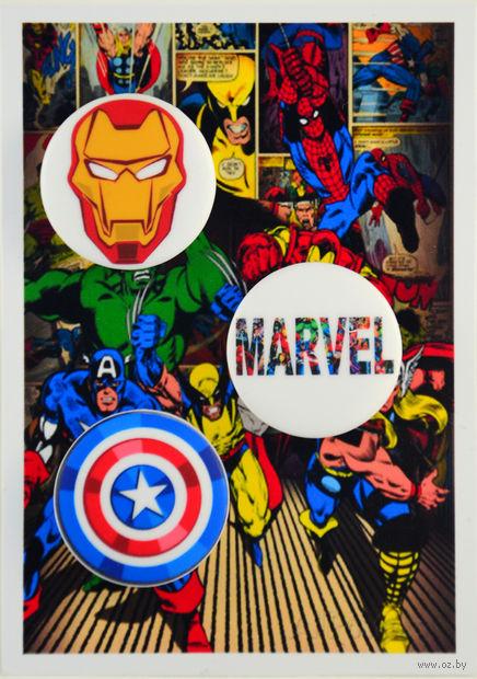 """Набор значков """"Вселенная Marvel"""" (192)"""
