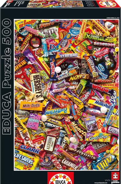 """Пазл """"Шоколадные батончики"""" (500 элементов)"""