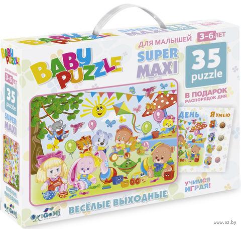 """Пазл """"Baby Puzzle. Веселые выходные"""" (35 элементов) — фото, картинка"""