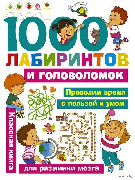 1000 лабиринтов и головоломок — фото, картинка