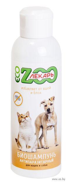 """Шампунь для кошек и собак """"Антипаразитарный"""" (200 мл) — фото, картинка"""