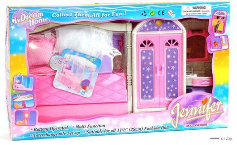 "Набор мебели для кукол ""Спальня"" (арт. Д7067)"