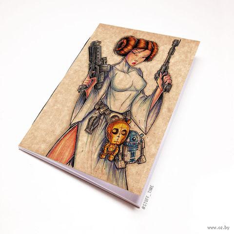 """Блокнот крафт """"Звездные войны"""" (А5; арт. 916)"""