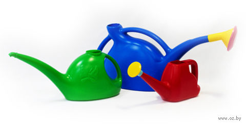 Лейка пластмассовая с рассеивателем (2 л) — фото, картинка