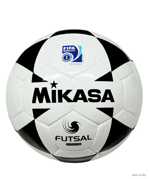 Мяч футзальный Mikasa FSC-62 P-W FIFA №4 — фото, картинка