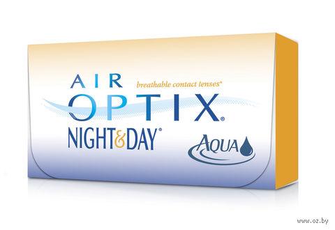 """Контактные линзы """"Air Optix Night and Day Aqua"""" (1 линза; +5,5 дптр) — фото, картинка"""