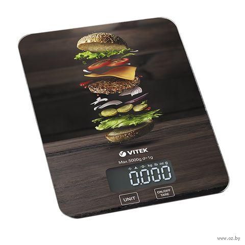Кухонные весы Vitek VT-2428 BK — фото, картинка