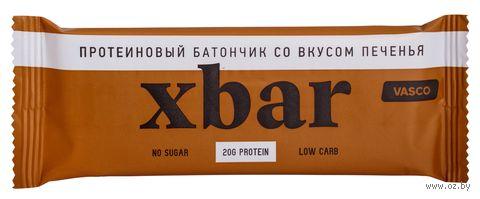 """Батончик """"Xbar протеиновый. Печенье"""" (60 г) — фото, картинка"""